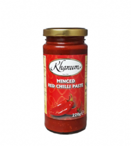 Red Chilli Paste (Minced) | Buy Online at the Asian Cookshop